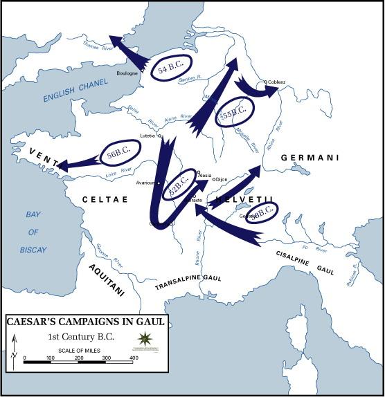 Pax Romana cartegaules