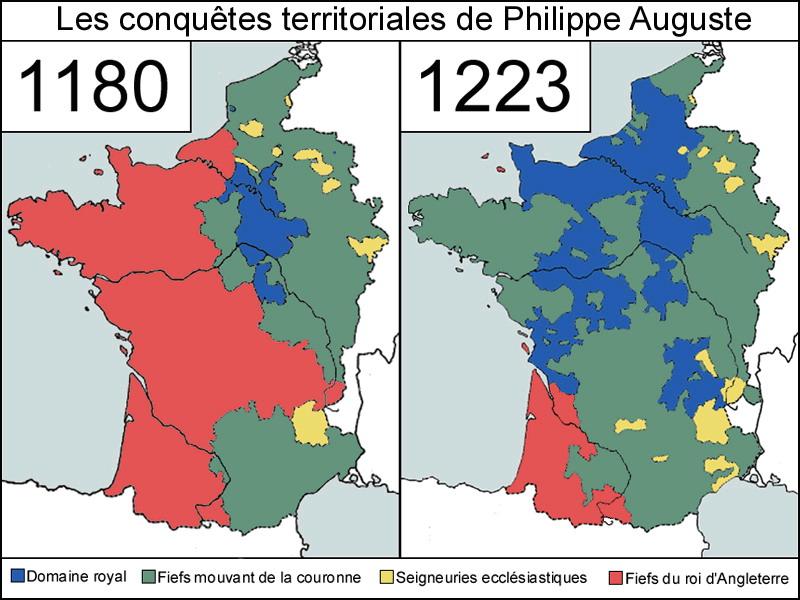 Carte-du-rotaume-de-France-en-1180-et-du-royaume-dAngleterre