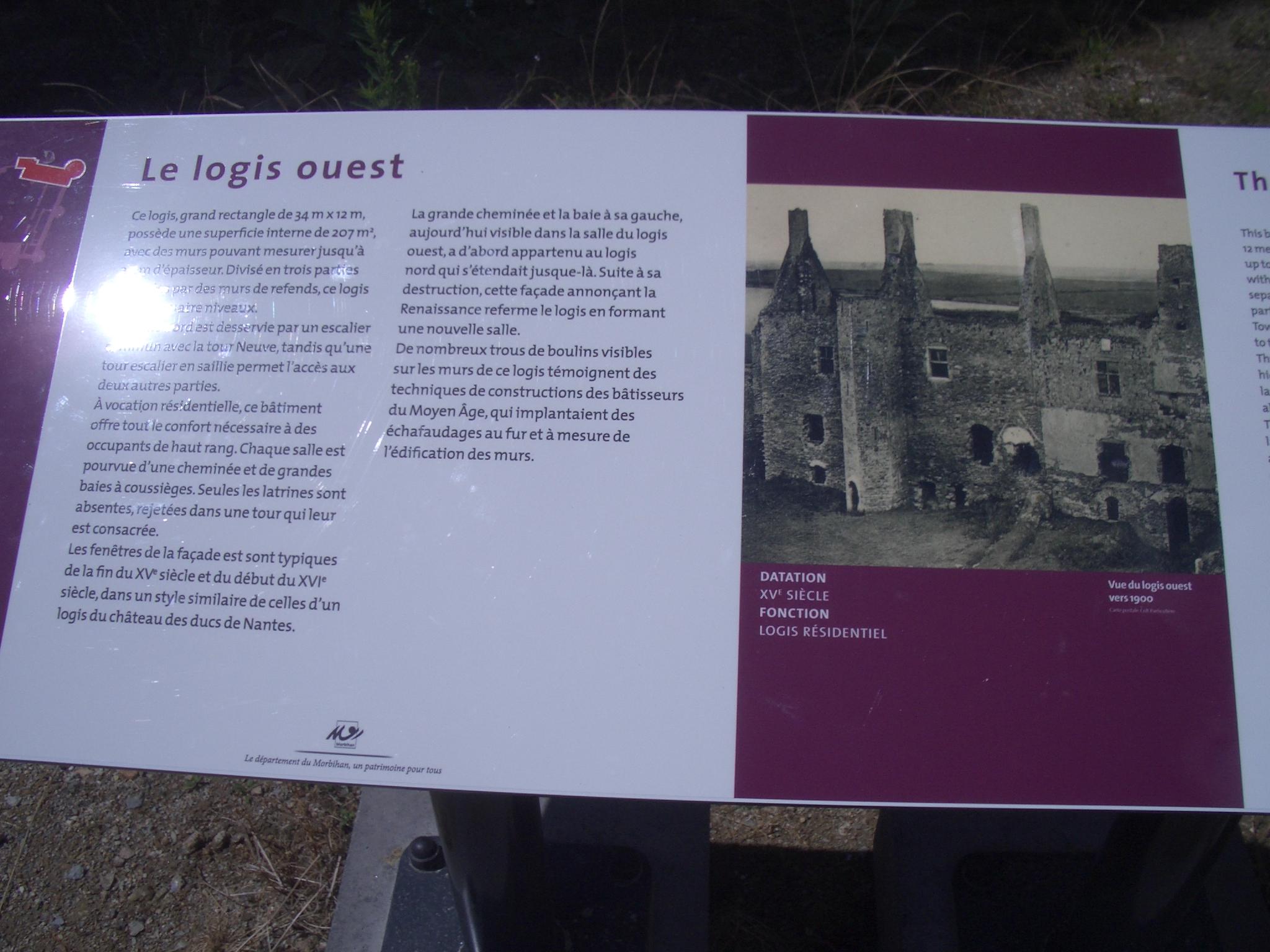 Archives du blog le xiii me si cle en vacances for Logis ouest