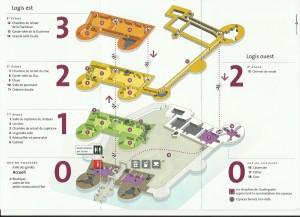 plan du logis Est
