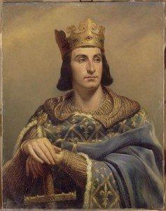 Portrait de Philippe Auguste 1165 1223 selon Louis-Félix Amiel (1802-1864).