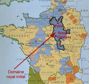 Domaine royal sous Louis VII