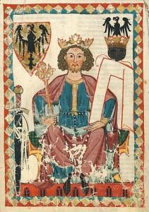 Henri VI dans le codex Manesse de 1300