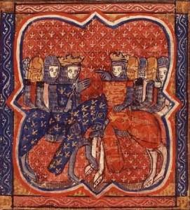 Philippe et Richard à la croisade