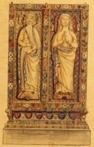 Alix de Thouars et sa fille Yolande dans l'abbaye de Villeneuvelès- landes