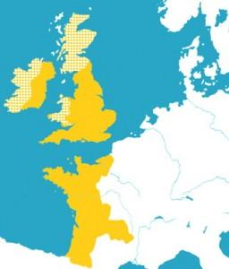 Empire Plantagenêt de 1144-1166 Geoffroy Ier et 1154-1214 -Henri II