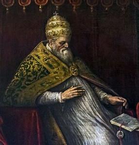 330px-Interior_of_Santi_Giovanni_e_Paolo_(Venice)_-_Honorius_III_by_Leandro_Bassano