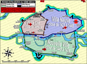 carte-de-rennes-intra-muros-au-15eme-siecle-l