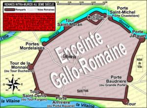 carte-de-rennes-intra-muros-au-3eme-siecle-l