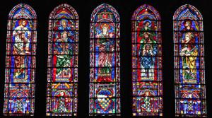 lancettes-evangelistes-2204c vitraux Chertres
