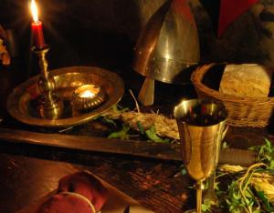 Table au XIIe siècle